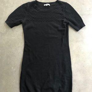 BB Dakota black knit dress